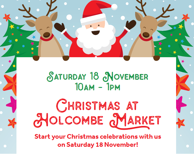 Christmas at Holcombe Market