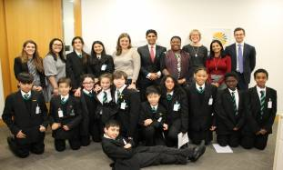 Linklaters Duke Academy Speak Easy participants