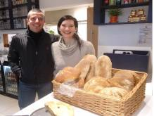 Kate and Fabrizio owners LovenBakery