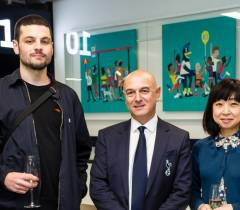 Art Gallery Unveiled Within New Spurs Stadium