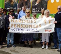 Tottenham goes to the Pensioners' Parliament