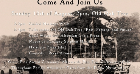 Celebrate the 125th anniversary of Bruce Castle Park