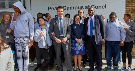 Minister Opens London's First College for Learners with Autism